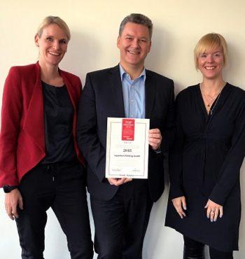 Familienfreundliche Unternehmen - Auszeichnung für expertum