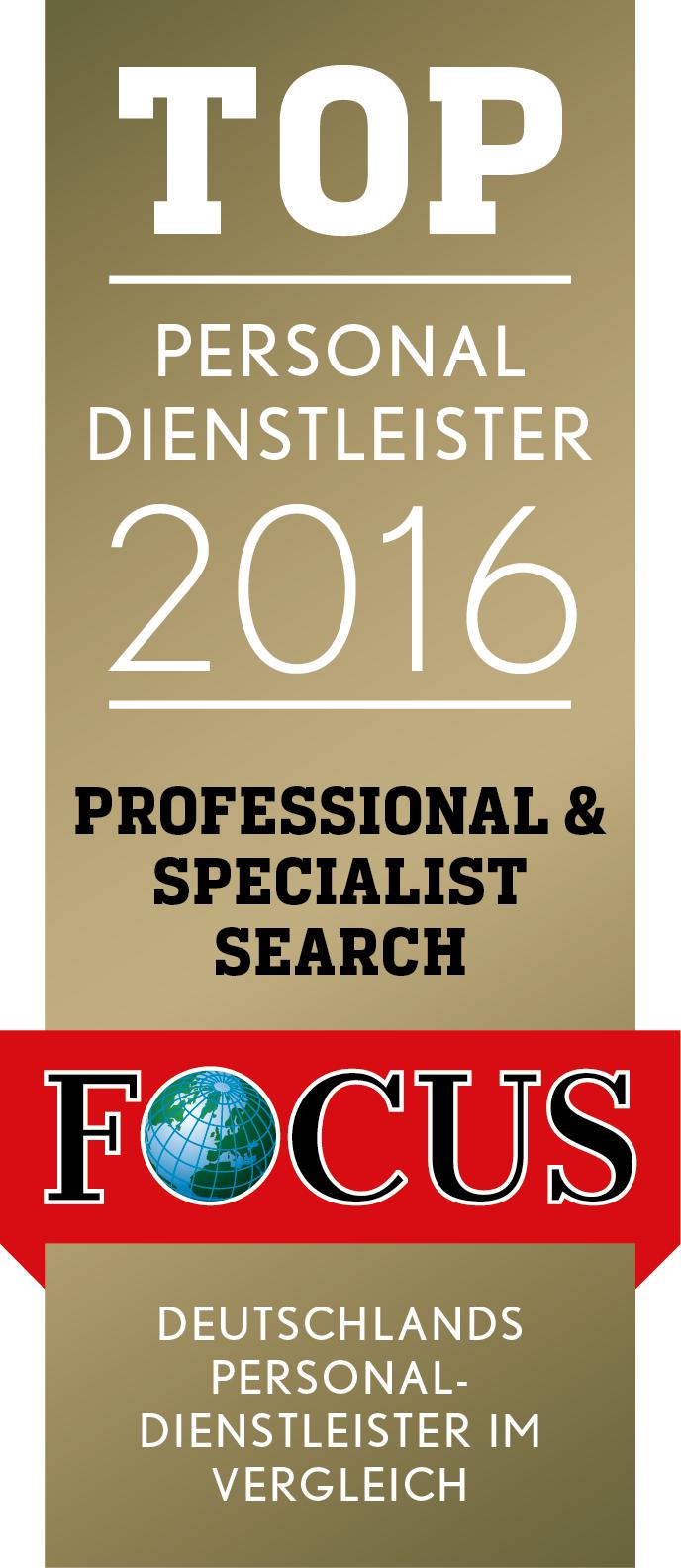 Top Personaldienstleister 2016