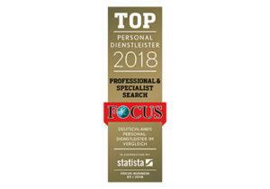 expertum | Focus Top Personaldienstleister 2018