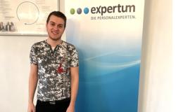 Herr Pluschke erzählt von seinen Erfahrungen mit expertum